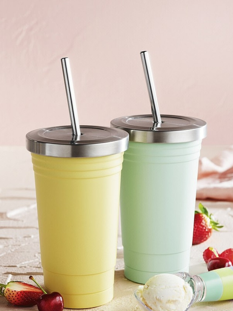 … and a double wall stainless steel cup for $9.99. Picture: Aldi