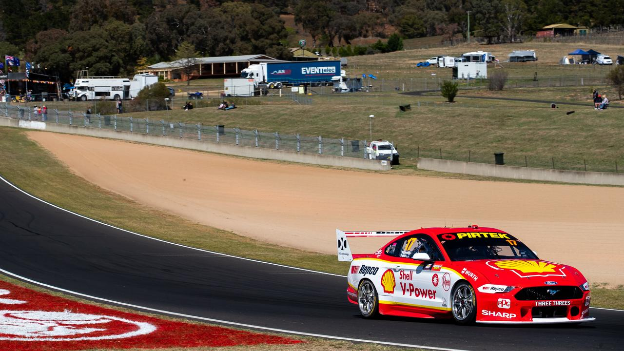 Record-breaker McLaughlin on the money in Practice 5 as Whincup crashes