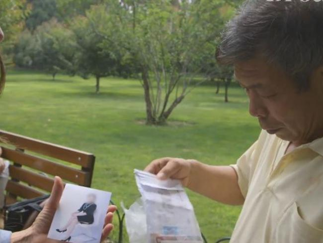 Mr Yen shows off a single 35-year-old women who will have trouble finding a husband due to her age. Picture: Supplied.