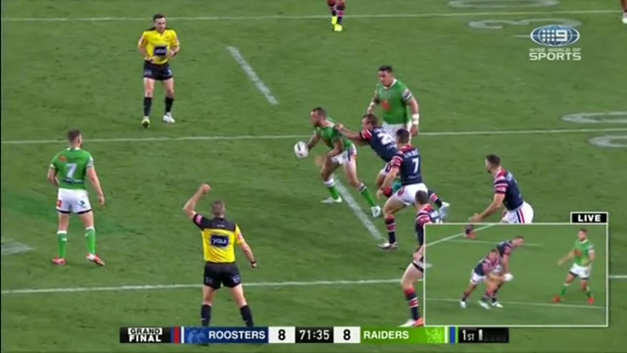 The NRL says the refs got THAT six-again call right. Their own rules confirm it was a blunder
