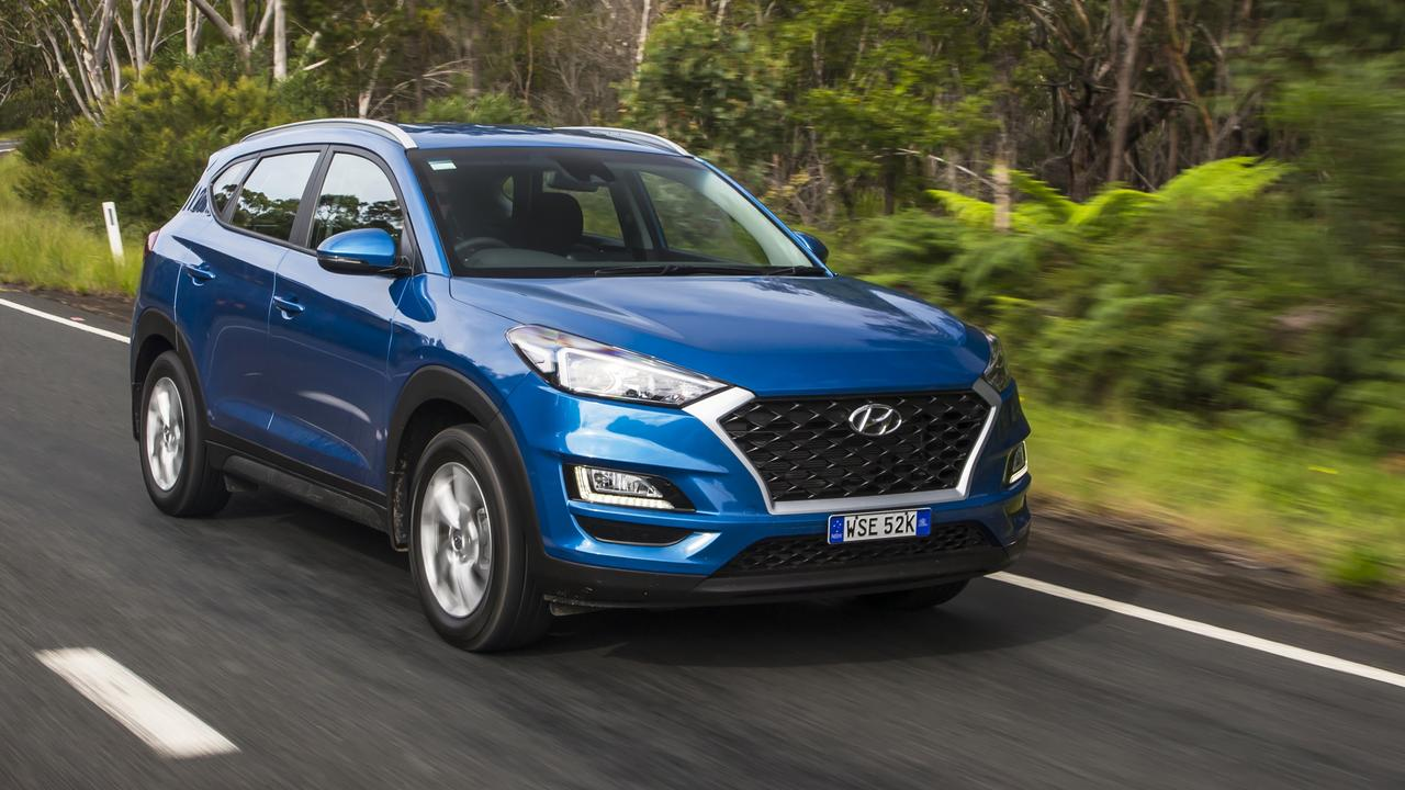 The Tucson in question is set to be replaced by a new model.