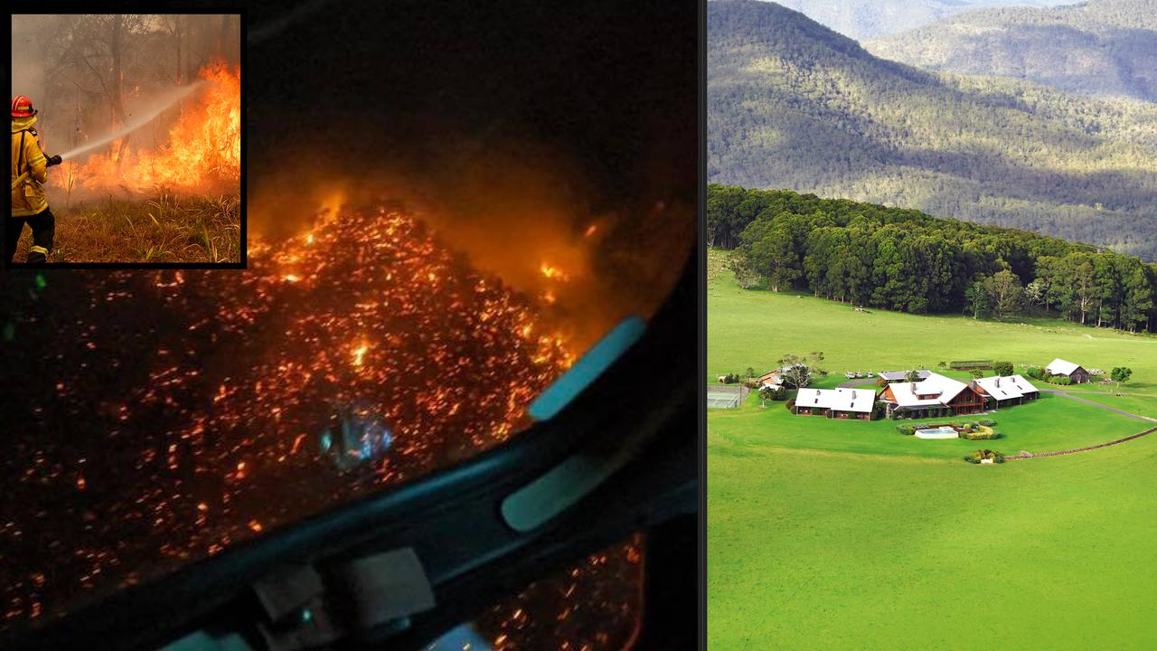 Queensland Bushfire, Spicers Lodge, Maryvale