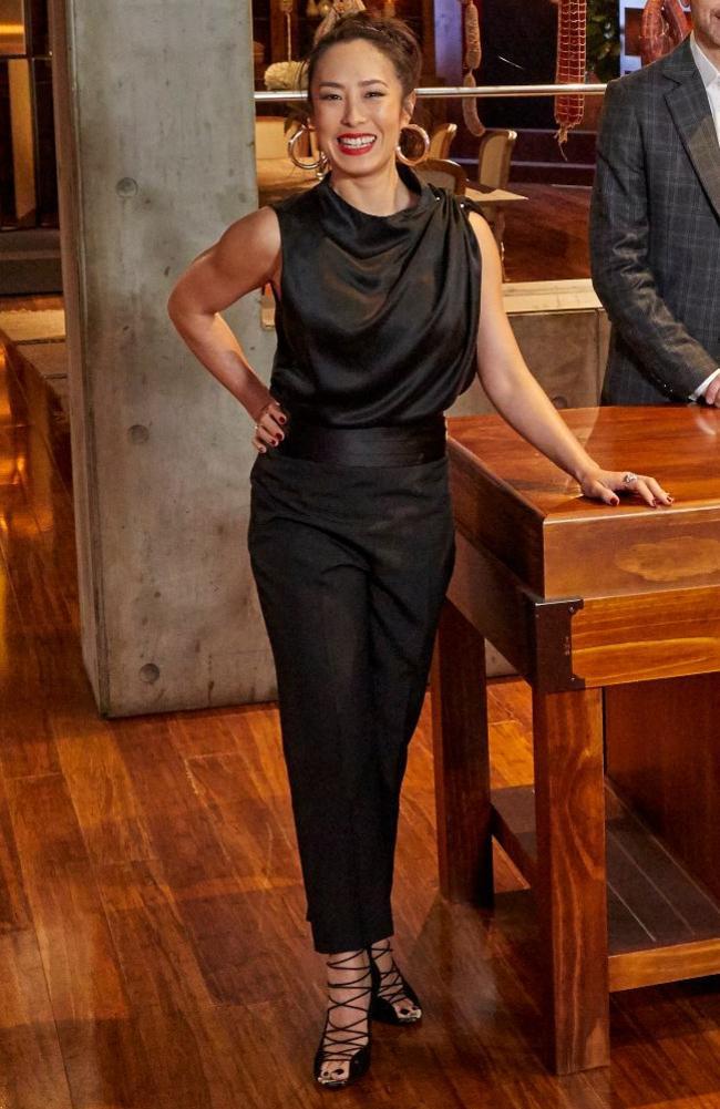 Episode 42: Thurley top, Zara pants, Lovisa earrings. Picture: MasterChef/Channel 10