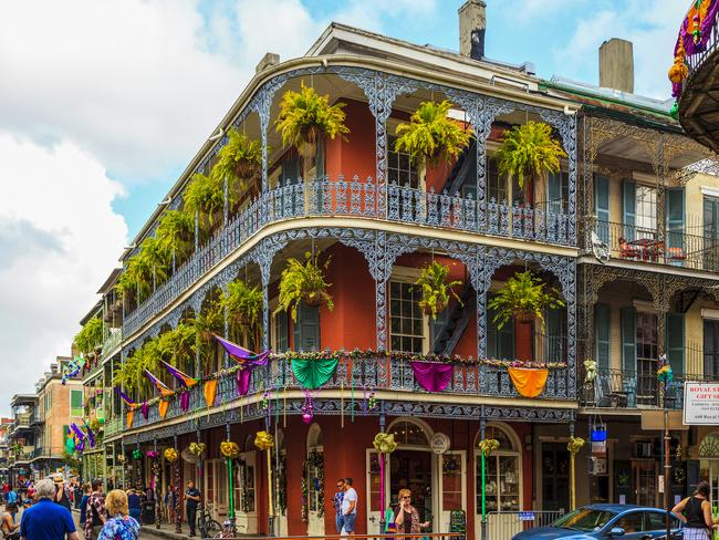 NEW ORLEANS, LOUISIANA There's a lot more to New Orleans than just its annual Mardi Gras celebrations. The city nicknamed the 'Big Easy' has jazz clubs, historic plantation homes and restaurants serving Cajun, Creole and French food. Explore its French Quarter, taste a famous gumbo and shop 'til you drop on Magazine Street.