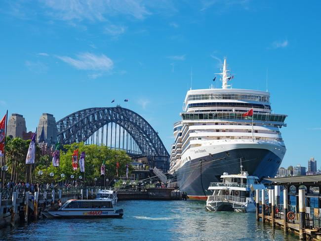 RIGHT FOR BYGONE STYLE  Queen Elizabeth will be based in Australia for a record 101 days, sailing our shores between December 2019 and March 2020, making it the longest Down Under deployment for any of Cunard's fleet of regal queens. Her diary includes a 14-day voyage to Papua New Guinea — making the line's maiden calls to the Trobriand and Conflict Islands — while Darwin, the Whitsundays, Albany and Esperance are inaugural stops for the art-deco liner that so elegantly celebrates the golden age of cruising.