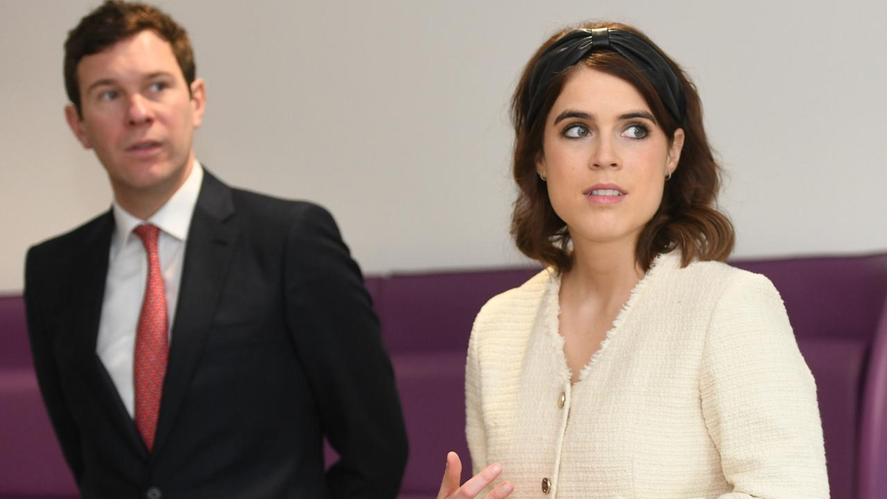 Princess Eugenie of York and Jack Brooksbank. Mr Brooksbank reportedly revealed the tunnels existence. (Photo by David Mirzoeff – WPA Pool/Getty Images)