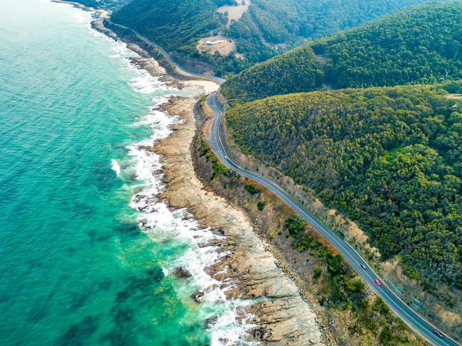 1. THE PLACE … TO USE THE PETROL THAT'S BEEN IN SITTING YOUR CAR FOR MONTHS: GREAT OCEAN ROAD  If your family album is missing the classic Twelve Apostles snapshot, now's your chance. Without the thousands of interstate and overseas motorists the Great Ocean Road attracts day in, day out, Victorians have one of the country's most scenic stretches of tarmac all to ourselves, at least for a while. The 250km drive hugs the Southern Ocean from surf central Torquay to the dairy town of Allansford. Check out the waves at Bells Beach, pick up provisions at the Wye River General Store or head inland to take in Great Otway National Park. End your day in seaside Port Campbell to take in the sunset on the foreshore.