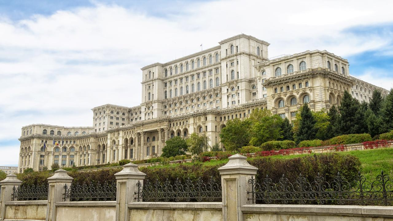 Dictator Nicolae Ceausescu's Palace - one of many reminders of dark times passed.