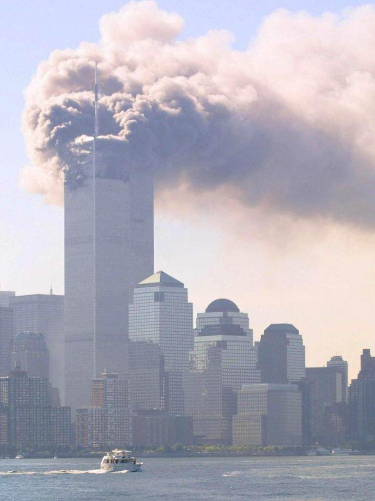 Two hijacked planes deliberately crashed into the World Trade Centre on September 11, 2001. Picture: Supplied
