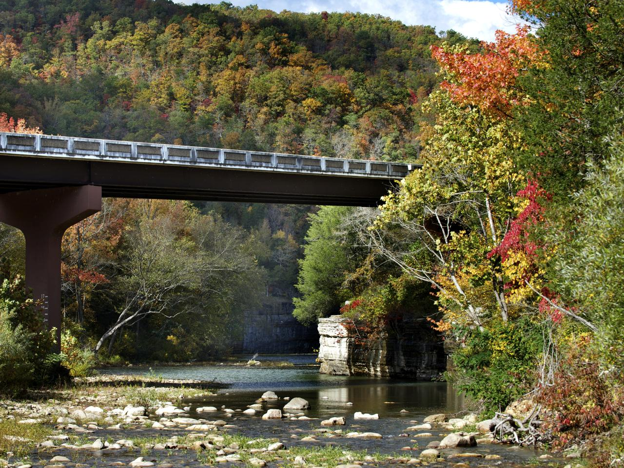 Exploring the Ozark Mountains by train is a stunning adventure, especially in autumn.