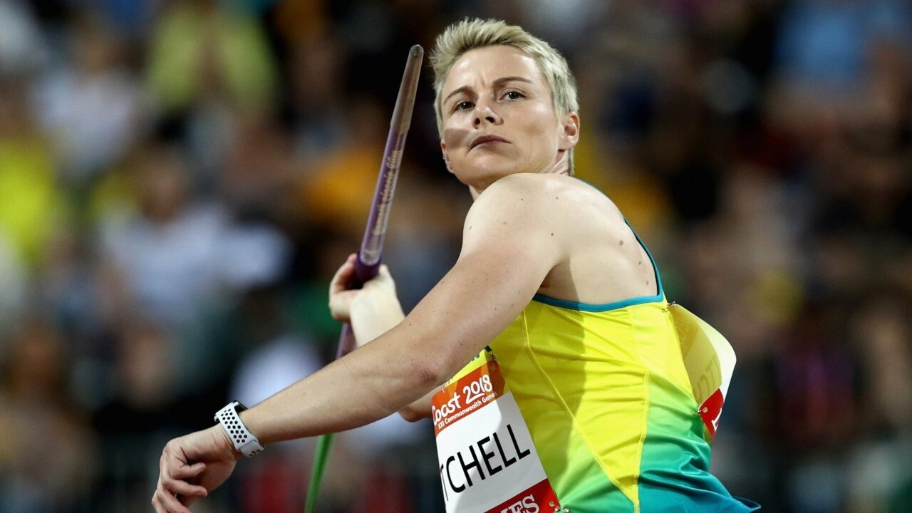 Australia wins gold in high jump and javelin at Commonwealth Games