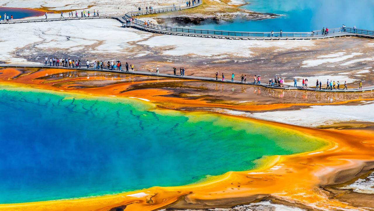 The Grand Prismatic at Yellowstone. Picture: istock