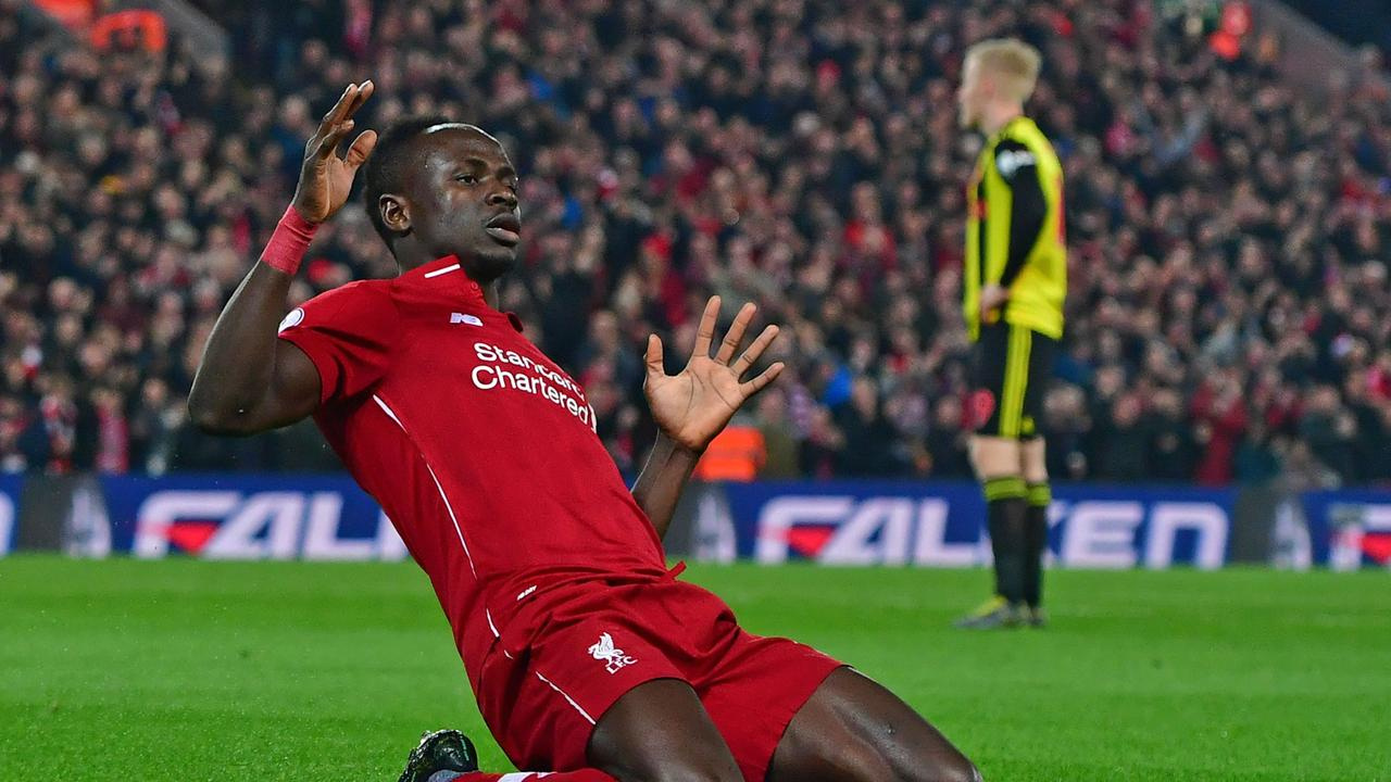 Sadio Mane will again be expected to bang in the goals for Liverpool.