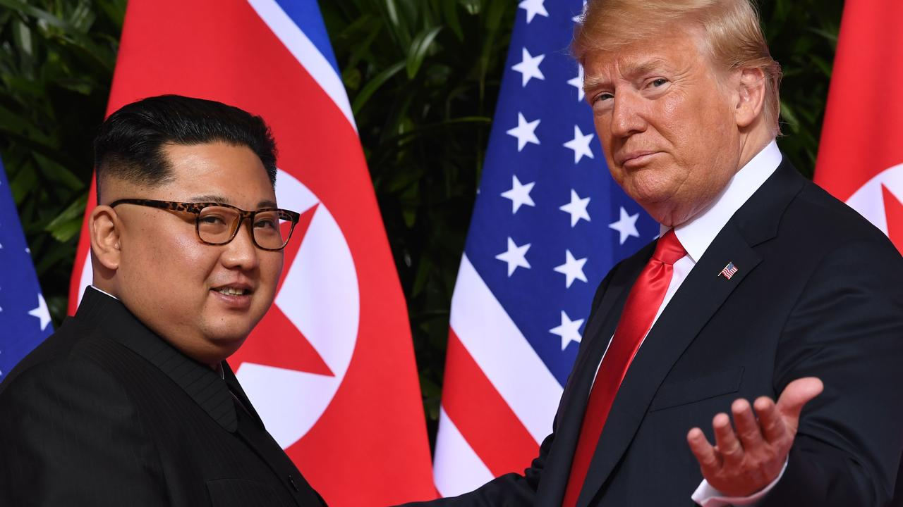 The pair developed something of a bromance. Picture: Saul Loeb/AFP