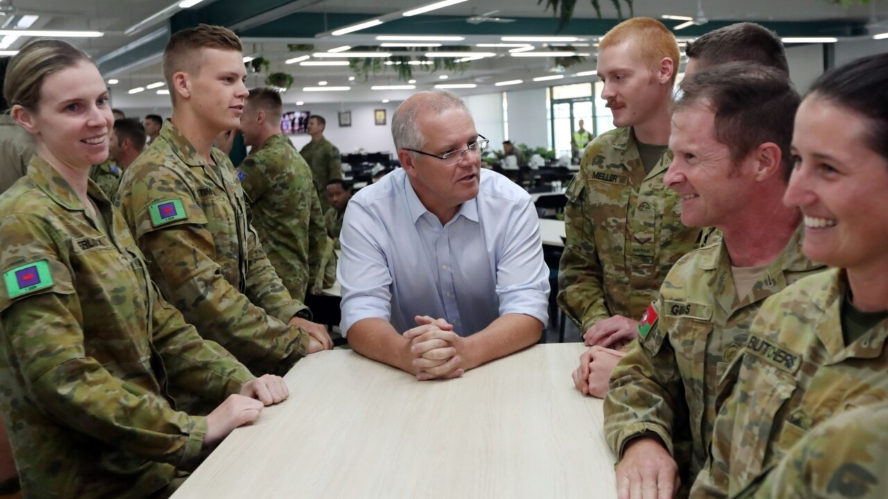Morrison strikes historic defence deal with Japanese PM