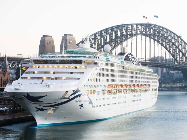 P&O's Pacific Explorer will host a star-studded line-up of comedians for the four-day Big Laugh cruise in June.