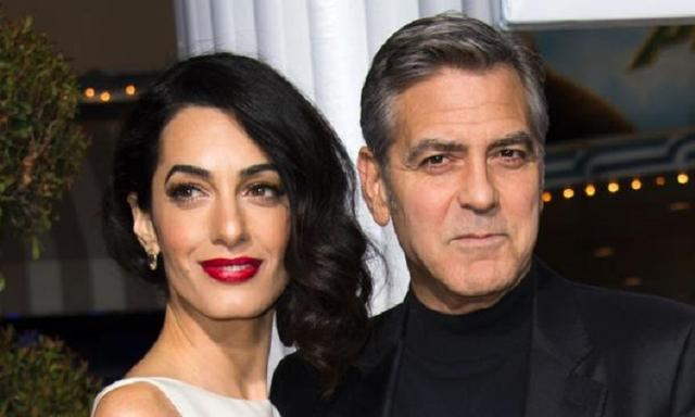 George Clooney has detailed his first meeting with Amal for the first time. Credit: AFP Photo/Valerie MaconSource:AFP