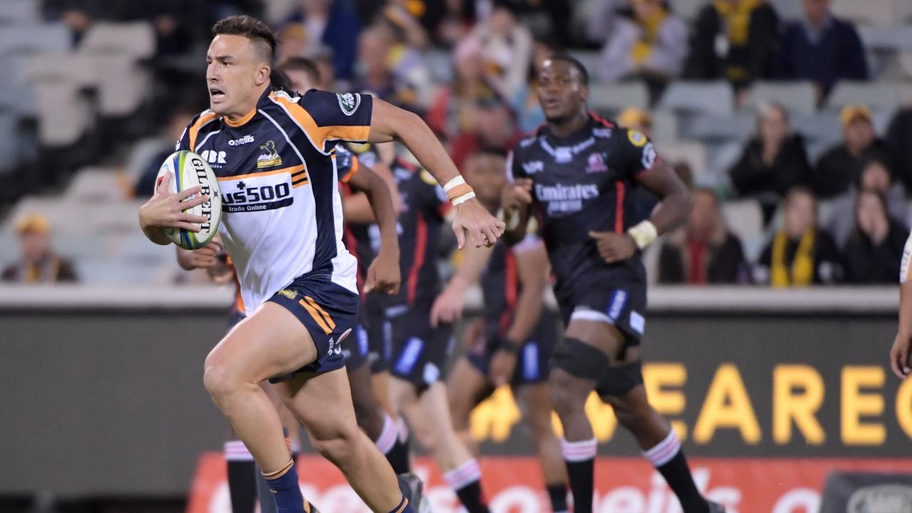 Tom Banks scored a try and played a big hand in the Brumbies' win over the Lions.