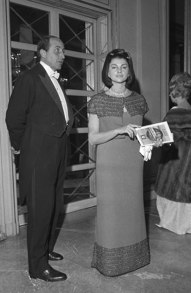 Marquis Casati Stampa and his wife Anna Fallarino. Picture: AFP/Farabola/Leemage