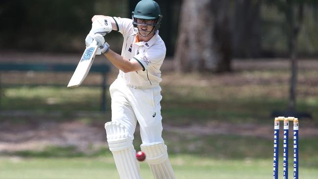 NEW FACE: South Australia has promoted Woodville batsman Conor McInerney from Premier Cricket for his maiden first-class match. Picture: James Elsby (AAP).