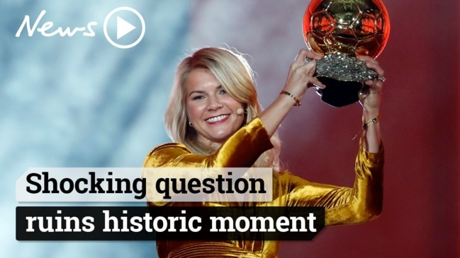 Ballon d'Or winner Ada Hegerberg asked to twerk on stage