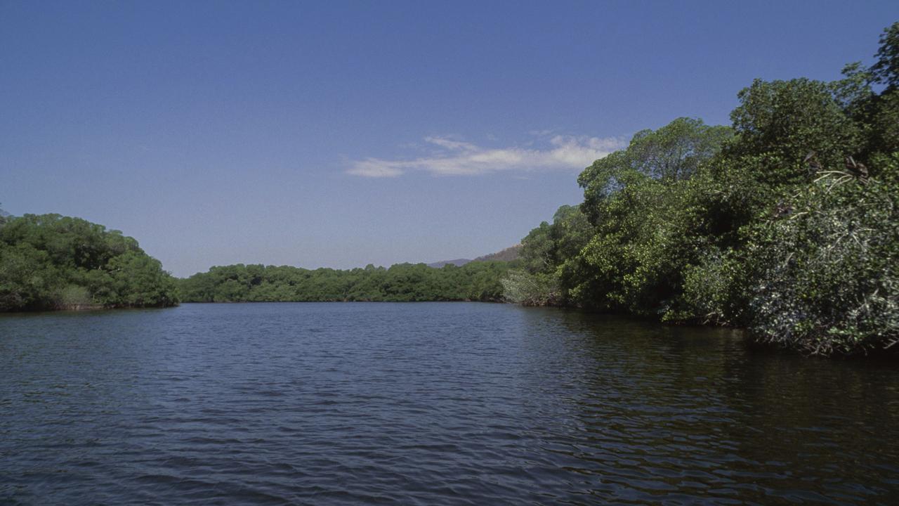 Laguna de Manialtepec, in Puerto Escondido, Mexico, where the attack occurred.