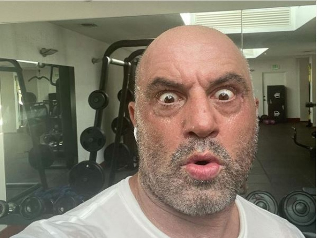 Joe Rogan tested positive for Covid. Picture: Supplied