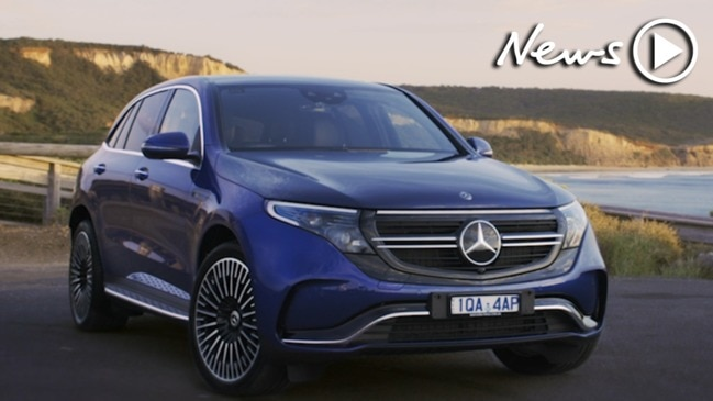 The first electric Mercedes - the EQC