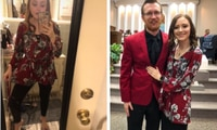 Woman discovers her top is a jumpsuit after 4 years