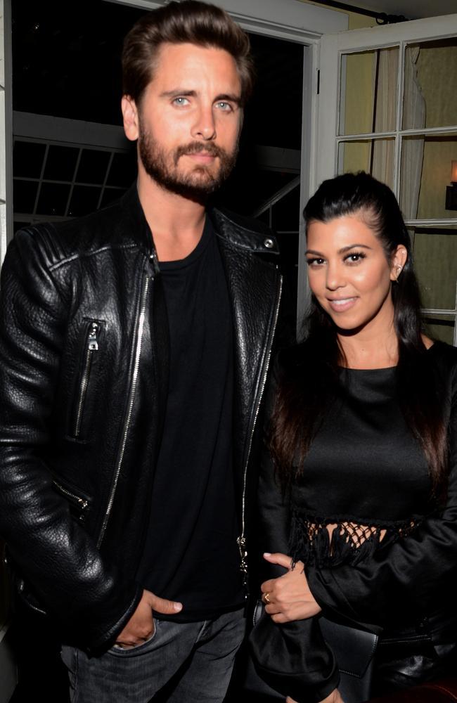 Scott Disick and Kourtney Kardashian have three children together. Picture: Chris Weeks/Getty Images for Calvin Klein