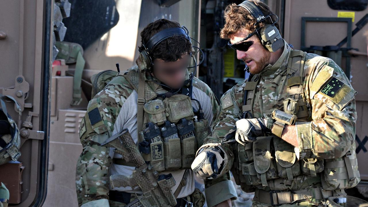 Ben Roberts-Smith prepares for an offensive in southern Afghanistan in 2010. Picture: Department of Defence
