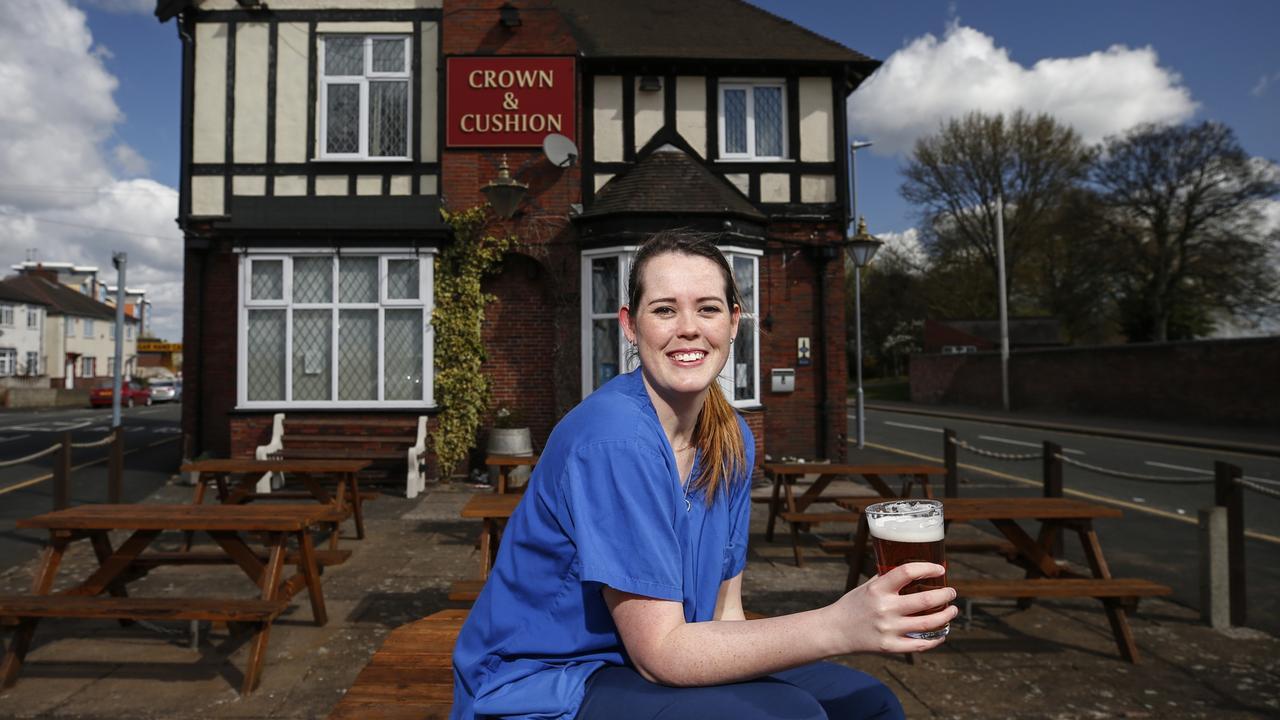 Lou Faint, 25, accident and emergency nurse in Birmingham, U.K. Photo: Hollie Adams for News Corp
