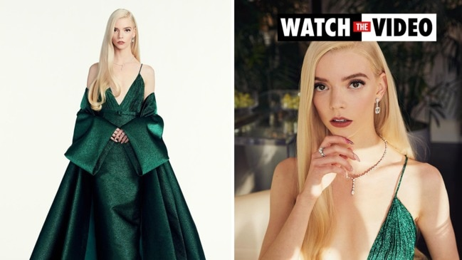 Anya Taylor-Joy wears Dior Haute Couture over $2.3m in Tiffany diamonds to the Golden Globes