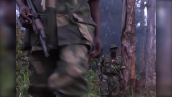 Rwandan Militia hiding out in Congo mountains