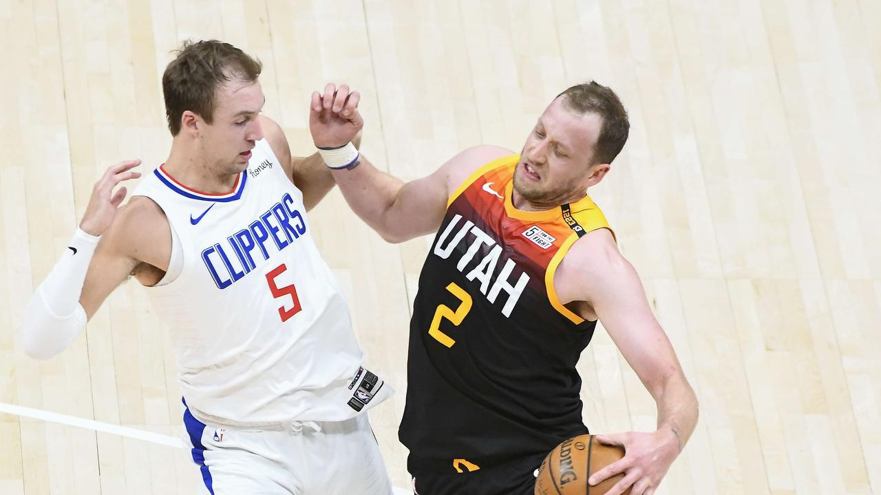 The NBA Playoffs kicked up a gear on Wednesday (AEST) as the Utah Jazz came from behind to down the LA Clippers.