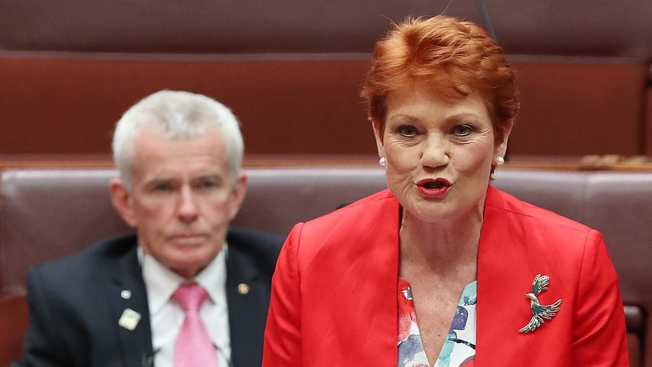 Senator Pauline Hanson says regional Queenslanders don't want the Olympics in 2032. Picture: Kym Smith