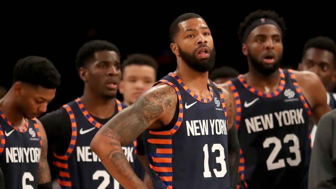 The New York Knicks are a basket case.