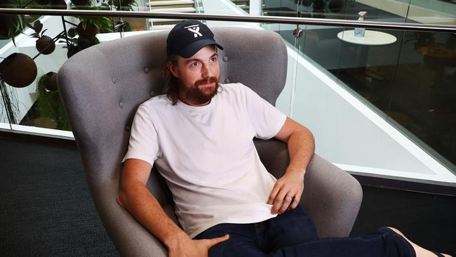 Billionaire software developer Mike Cannon-Brookes thinks the office is key to innovation. Picture: John Feder/The Australian.