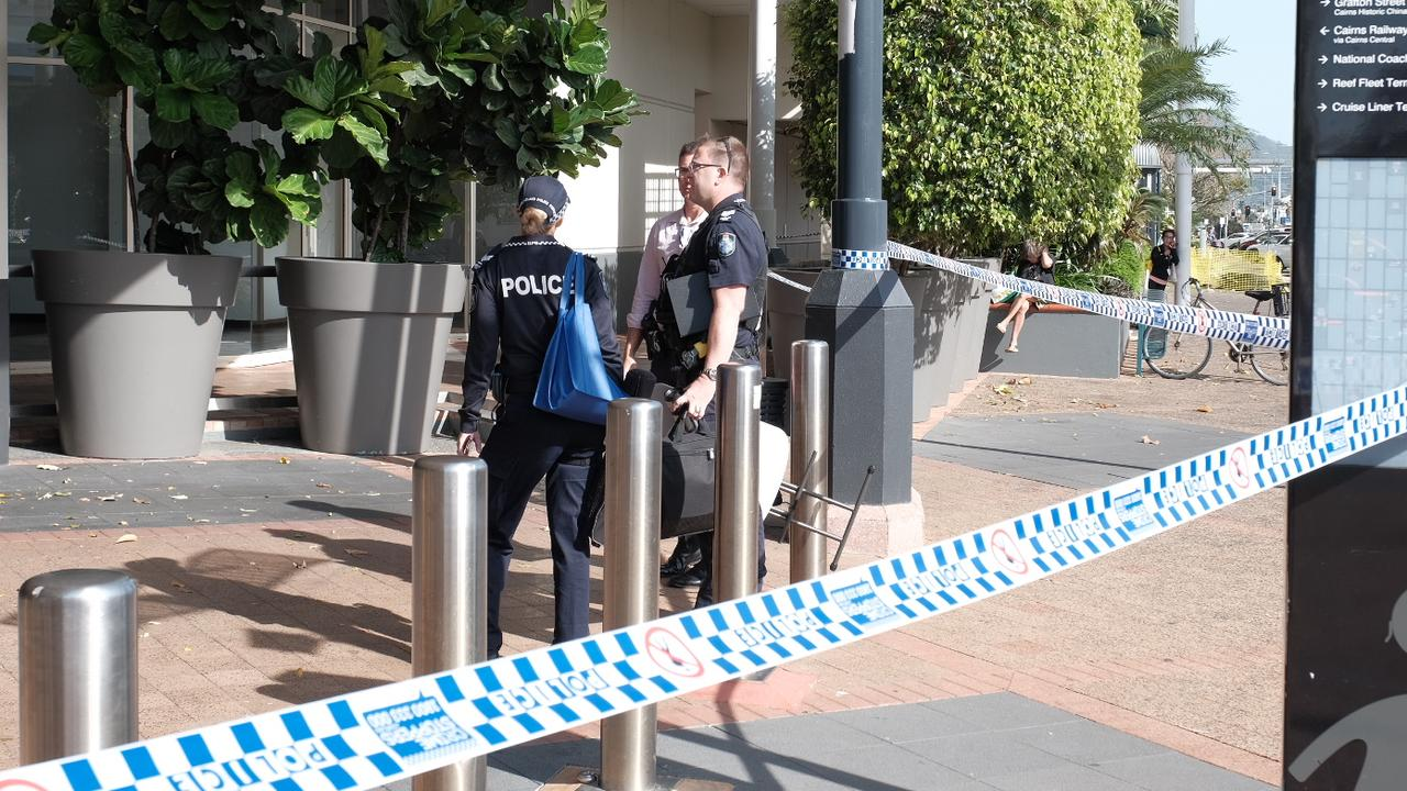 Cairns Central stabbing: Man dies after throat slashed in ...