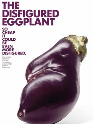 The same as the perfectly shaped eggplant ... French supermarket Intermarche's campaign.