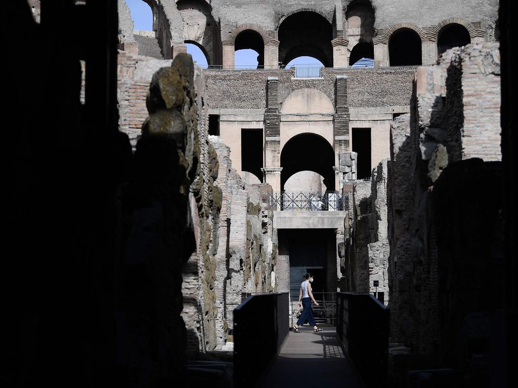 The areas were previously off limits to visitors. Picture: Filippo Monteforte / AFP