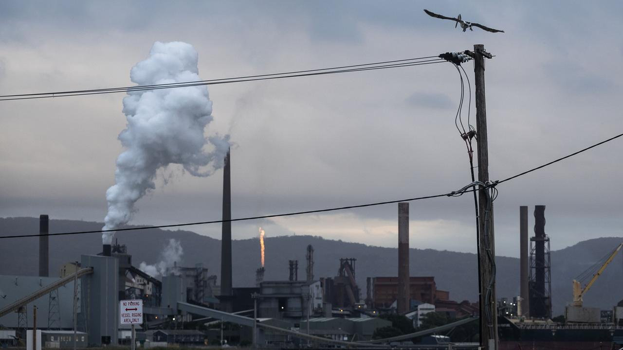The NSW Independent Planning Commission's recommendation against South32's Dendrobium underground mine extension has big implications for BlueScope's Port Kembla steelworks. Picture: Brook Mitchell/Getty Images
