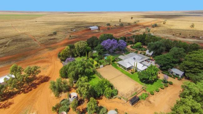 7/10Corynnia StationNew South WalesGreat things come in small packages and at 6880 hectares (boutique compared with the likes of Anna Creek, which dwarfs Israel), this busy sheep station  an hour's drive west from Hay is more charming than most. Offering an outback homestead oasis (there are no camping or caravan facilities) with pool, tennis court, bicycles, and farm and cotton gin tours, guests can stay in a suite, cottage or six-bedroom lodge and pitch in with station life. There's also the option to help with tending to the orphaned wildlife raised on the property. Pet-friendly by request.   Picture: Instagram/@corynniastation