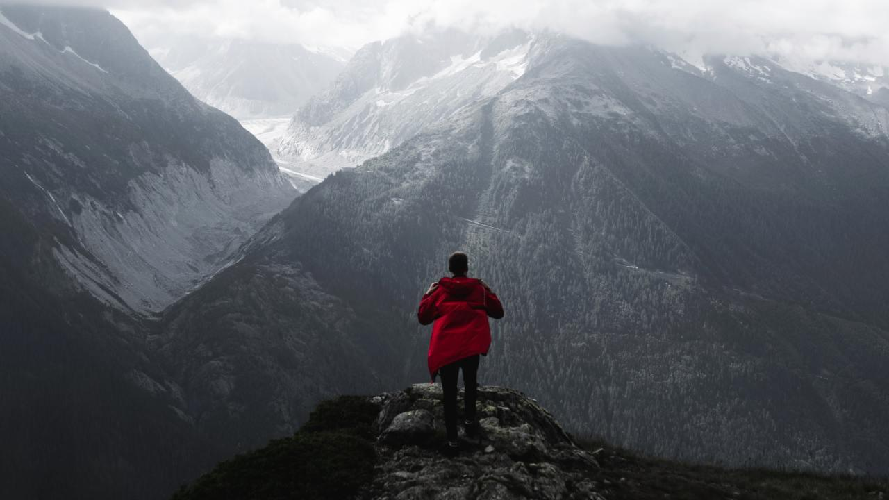 Get yourself a raincoat nearly as tough as you. Picture: Luca Massimilian / Unsplash