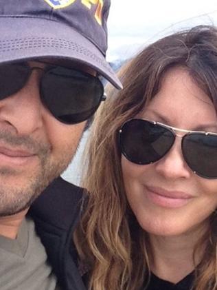 Linda Kozwolski and rumoured new husband Moulay Hafid Babaa. Picture: Supplied