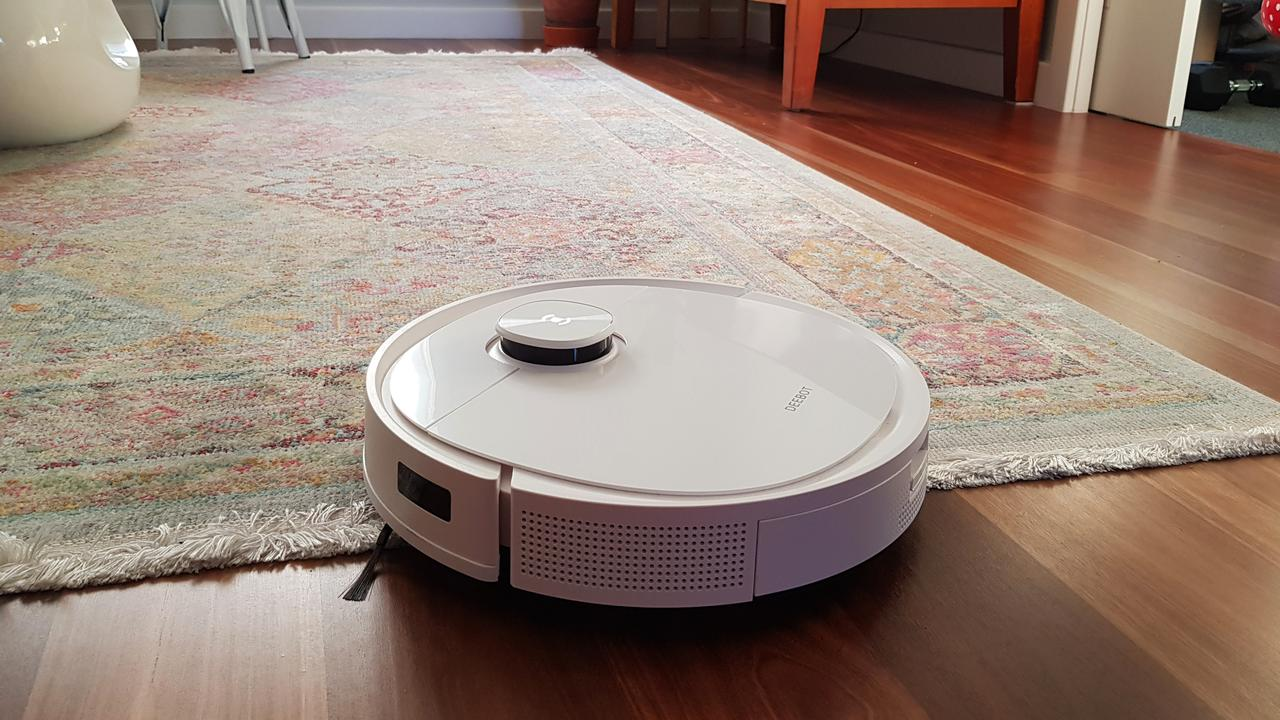 The ECOVACS DEEBOT T9+ is a new addition to my cleaning routine, and I love that it makes keeping my floors tidy a breeze. Image: supplied.