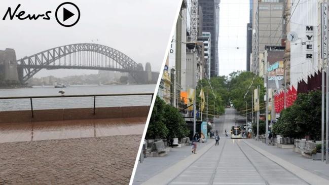 NSW and Victoria go into 'comprehensive shutdown'