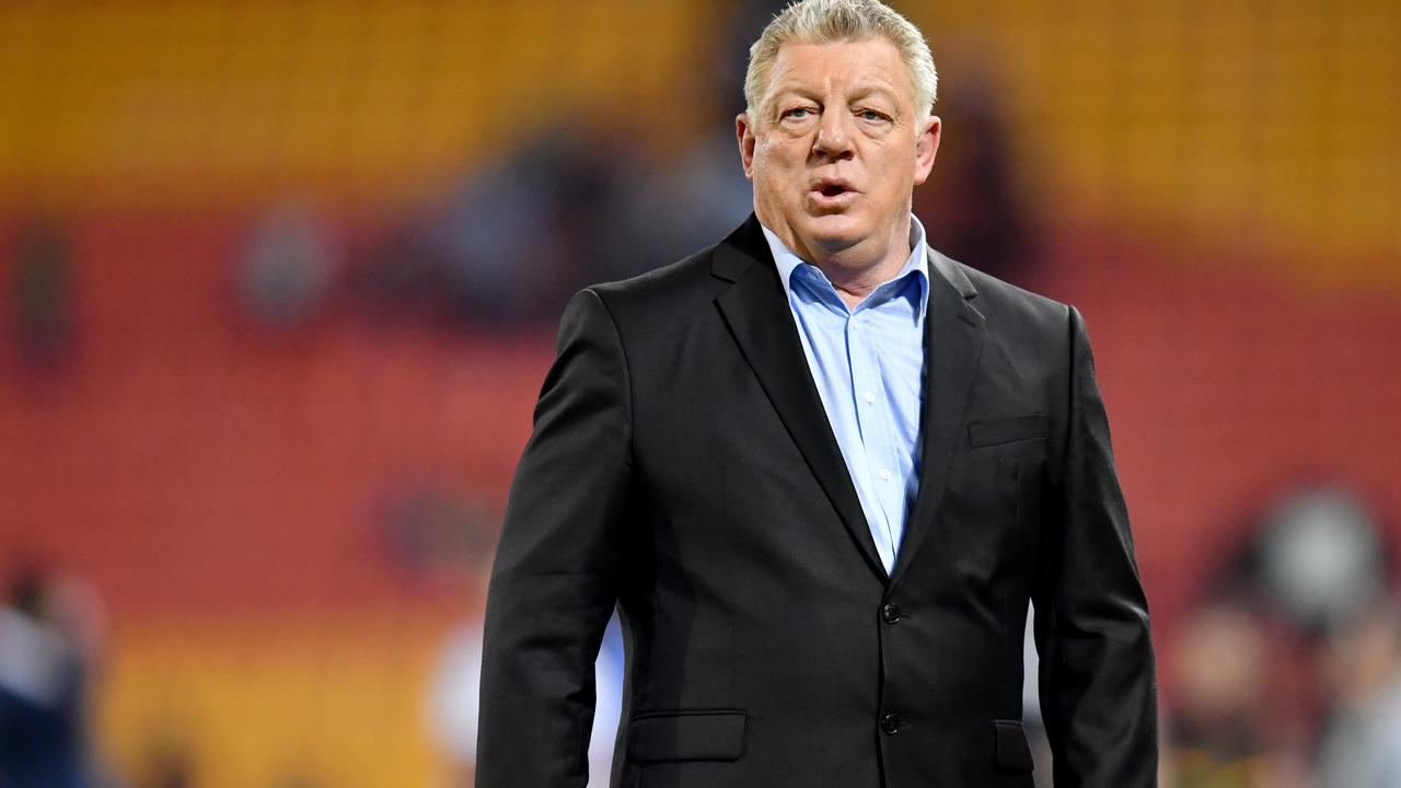 Phil Gould was emotional. (AAP Image/Darren England)