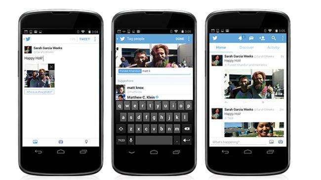 Two new features come to Twitter that will let users add more photos and tag away. And yo