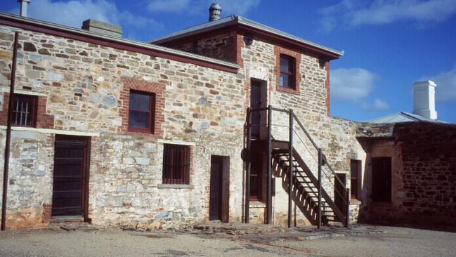 The historic Redruth Gaol at Burra, South Australia.